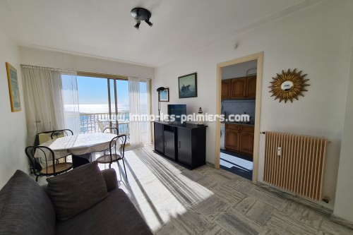 Image 1 : Appartement studio en face mer à Roquebrune Cap Martin