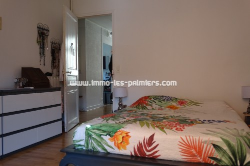 Image 1 : Large 3 room apartment with terrace on the 1st and last floor of a house located in Roquebrune