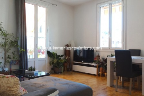 Image 3 : Large 3 room apartment with terrace on the 1st and last floor of a house located in Roquebrune