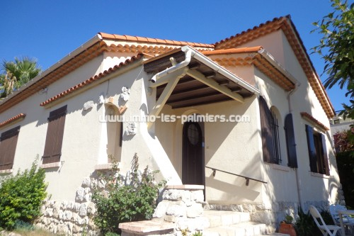 Roquebrune maison face mer