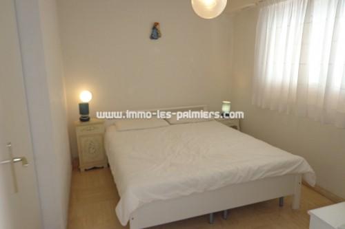 Image 4 : Piccola residenza nel tranquillo quartiere di Roquebrune. 2 camere che attraversano arredate.