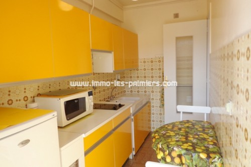 Image 4 : Small furnished studio with independent kitchen and terrace to the south/west. Luxury residence
