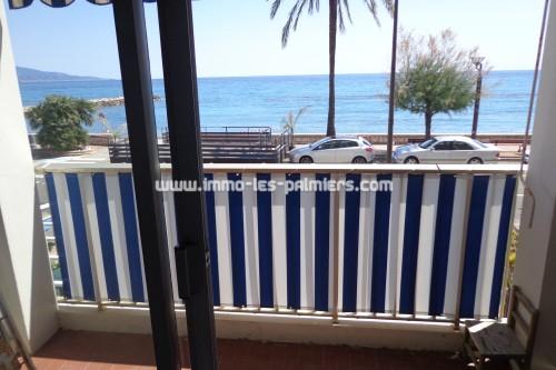 Image 5 : Studio meublé face à la mer et les plages à Roquebrune cap martin. Idéal personne seule.